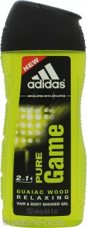 Adidas Pure Game Gel de Ducha 2 en 1 Pelo y Cuerpo 250ml