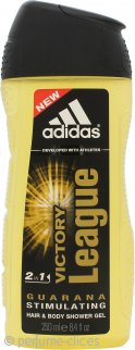 Adidas Victory League Gel de Ducha 2 en 1 Corporal y Pelo 250ml
