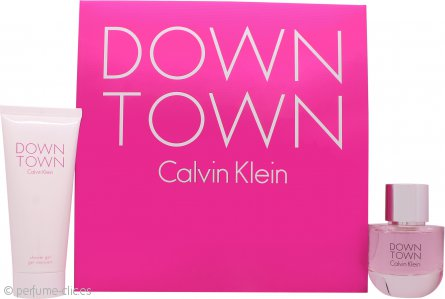 Calvin Klein Downtown Set de Regalo 50ml EDP + 100ml Gel de Ducha