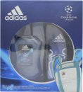 Adidas UEFA Champions League Edition Set de Regalo 100ml EDT + 250ml Gel de Ducha