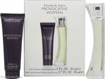 Elizabeth Arden Provocative Woman Set de Regalo 30ml EDP + 50ml Loción Corporal