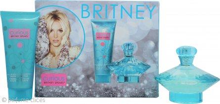 Britney Spears Curious Set de Regalo 100ml EDP Vaporizador + 100ml Souffle Corporal