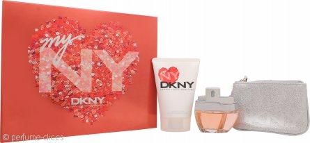 DKNY My NY Set de Regalo 50ml EDP Vaporizador + 100ml Gel Corporal + Bolsa