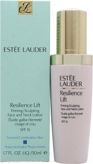 Estee Lauder Resilience Lift Loción Reafirmante/Moldeadora de Cara y Cuello 50ml SPF15