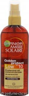 Garnier Ambre Solaire Vaporizador Aceite Protección Dorado 150ml FPS 10