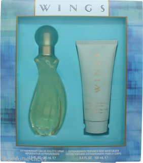 Giorgio Beverly Hills Wings Set de Regalo 90ml EDT + 100ml Hidratante Corporal