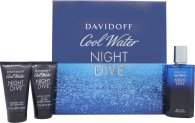 Davidoff Cool Water Night Dive Set de Regalo 75ml EDT + 50ml Gel de Ducha + 50ml Bálsamo Aftershave