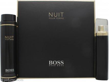Hugo Boss Boss Nuit Pour Femme Set de Regalo 75ml EDP Vaporizador + 200ml Loción Corporal