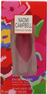 Naomi Campbell Bohemian Garden Eau de Toilette 15ml Vaporizador
