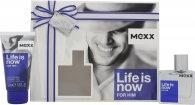Mexx Life Is Now for Him Set de Regalo 30ml EDT + 50ml Gel de Ducha
