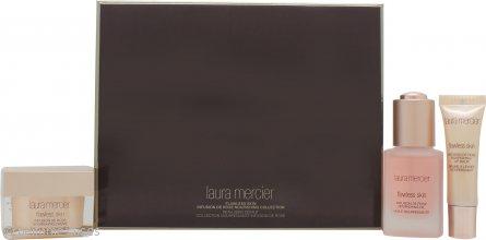 Laura Mercier Infusion de Rose Colección Cuidado Piel Vacaciones 30ml Aceite Nutritivo + 30g Crema Nutritiva + 10ml Bálsamo Labial Nutritivo