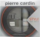Pierre Cardin Style Set de Regalo 50ml EDT + 200ml Vaporizador Corporal