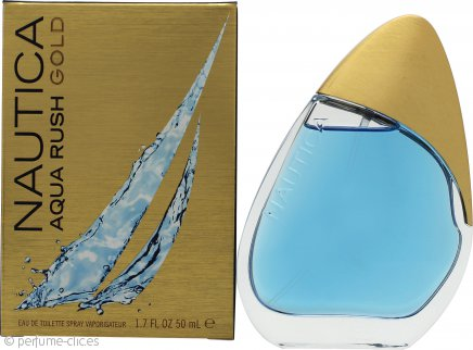 Nautica Acqua Rush Gold Eau de Toilette 50ml Vaporizador