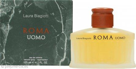 Laura Biagiotti Roma Uomo Eau de Toilette 125ml Vaporizador