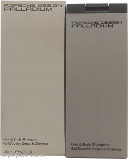 Porsche Design Palladium Champú Corporal y de Pelo 200ml