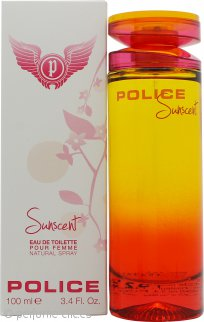 Police Sunscent Femme Eau de Toilette 100ml Vaporizador