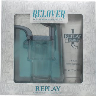 Replay Relover Set de Regalo 50ml EDT + 100ml Champú Corporal Total