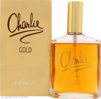 Revlon Charlie Gold Eau De Toilette 100ml Vaporizador