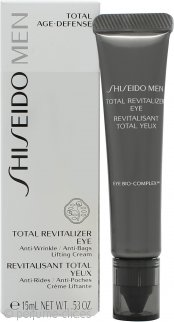 Shiseido Men Revitalizador Ojos Total 15ml
