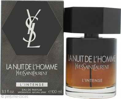 Yves Saint Laurent La Nuit de L'Homme L'Intense Eau de Parfum 100ml Vaporizador