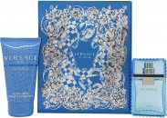 Versace Man Eau Fraiche Set de Regalo 30ml EDT + 50ml Gel de Ducha