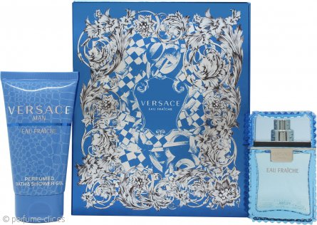 Versace Man Eau Fraiche Set de Regalo 30ml EDT + 50ml Gel de Ducha