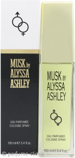 Alyssa Ashley Musk Eau de Cologne 100ml Vaporizador
