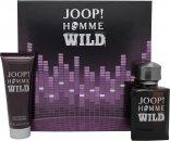 Joop! Homme Wild Set de Regalo 75ml EDT Vaporizador + 75ml Gel de Ducha