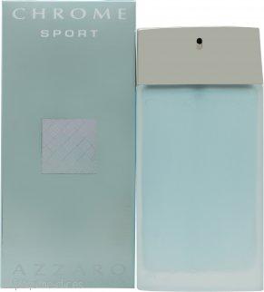 Azzaro Chrome Sport Eau de Toilette 100ml Vaporizador