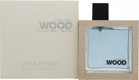 DSquared2 He Wood Ocean Wet Wood Eau de Toilette 100ml Vaporizador