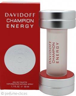 Davidoff Champion Energy Eau de Toilette 50ml Vaporizador