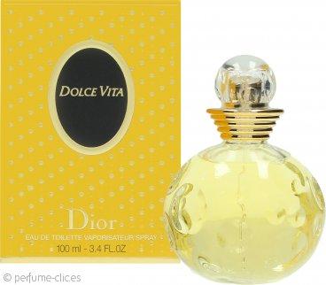 Christian Dior Dolce Vita Eau de Toilette 100ml Vaporizador