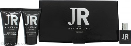 John Richmond John Richmond for Men Set de Regalo 4.5ml EDT + 25ml Gel De Ducha + 25ml Bálsamo Aftershave