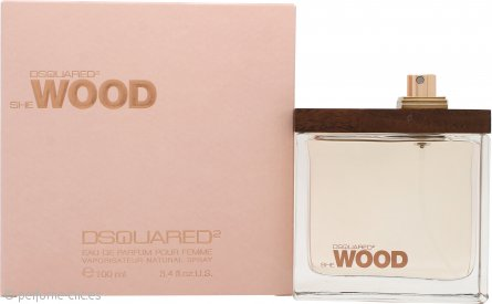 DSquared2 She Wood Eau de Parfum 100ml Vaporizador