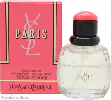 Yves Saint Laurent Paris Eau de Toilette 50ml Vaporizador