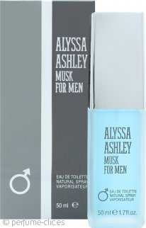 Alyssa Ashley Musk for Men Eau de Toilette 50ml Vaporizador