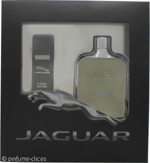 Jaguar Classic Motion Set de Regalo 100ml EDT + 15ml EDT Vaporizador de Viaje