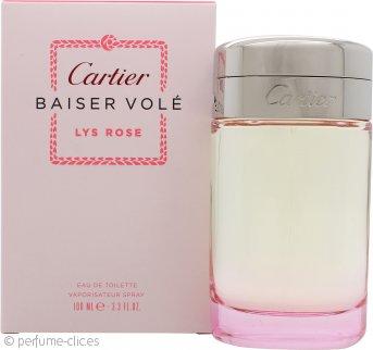 Cartier Baiser Vole Lys Rose Eau de Toilette 100ml Vaporizador