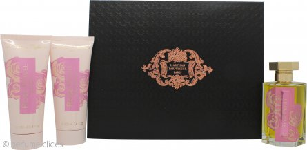 L'Artisan Rose Privée Set de Regalo 100ml EDP + 100ml Gel de Ducha + 100ml Loción Corporal