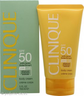 Clinique Crema Corporal con Tecnología Solar FPS 50 150ml