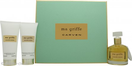 Carven Ma Griffe Gift Set 50ml EDP + 100ml Leche corporal