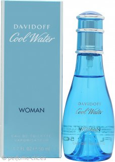 Davidoff Cool Water Eau de Toilette 50ml Vaporizador