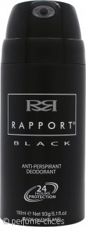 Dana Rapport Black Desodorante Anti Perspirante 150ml Vaporizador