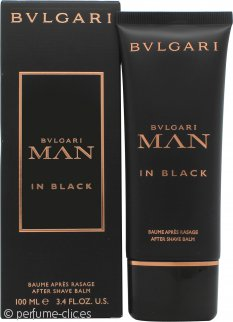 Bvlgari Man In Black Bálsamo Aftershave 100ml