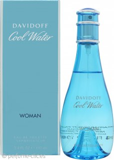 Davidoff Cool Water Woman Eau de Toilette 100ml Vaporizador