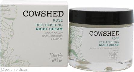 Cowshed Rose Crema Nocturna Rellenadora 50ml