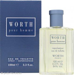 Worth Pour Homme Eau de Toilette 100ml Vaporizador