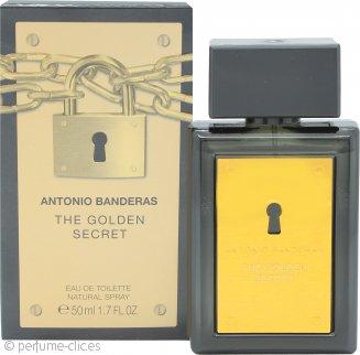Antonio Banderas The Golden Secret Eau de Toilette 50ml Vaporizador