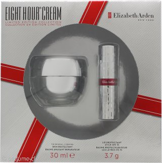 Elizabeth Arden Eight Hour Cream Set de Regalo 30ml Protector de Piel + Barra Protectora Labios FPS 15