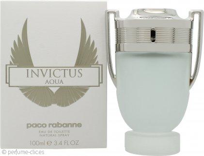 Paco Rabanne Invictus Aqua Eau de Toilette 100ml Vaporizador